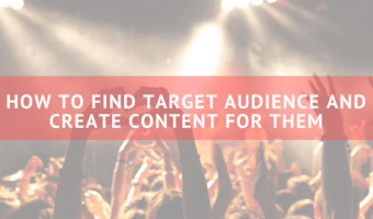 Find target audience and write content